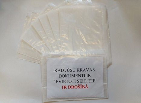 Self-adhesive envelopes